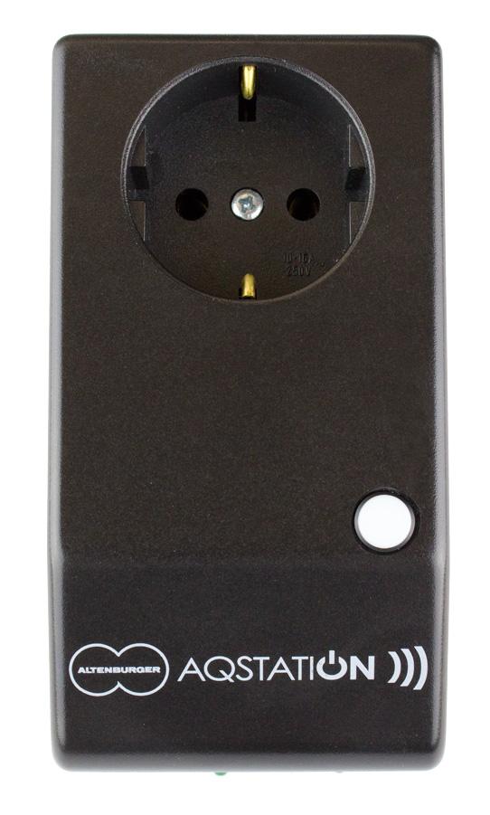 aqstation switch 16a schwarz wlan schalter 16a relaiskontakt. Black Bedroom Furniture Sets. Home Design Ideas
